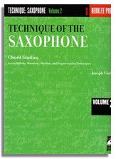 Joe Viola: Technique of the Saxophone Vol. 2 - Chord Studies