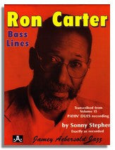 Ron Carter Bass Lines from Jamey Aebersold Volume 15 Payin Dues