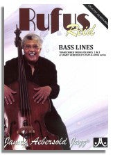 Rufus Reid Bass Lines from Jamey Aebersold Volume 1 and Volume 3