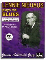 Lennie Niehaus Plays The Blues (Bb) from Jamey Aebersold Volume 42 Blues in All Keys