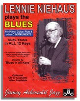 Lennie Niehaus Plays The Blues (C) from Jamey Aebersold Volume 42