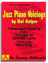 Hal Galper: Jazz Piano Voicings from Jamey Aebersold Volume 55 Jerome Kern