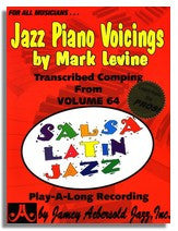 Mark Levine: Piano Voicings from Jamey Aebersold Volume 64 Salsa !