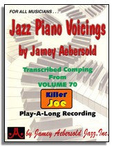 Jamey Aebersold: Piano Voicings from Jamey Aebersold Volume 70 Killer Joe