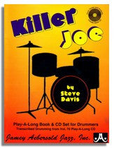 Steve Davis: Jazz Drums - Style & Analysis: Jamey Aebersold Volume 70 Killer Joe