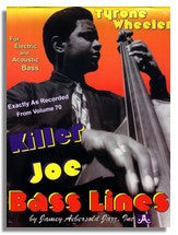 Tyrone Wheeler Bass Lines from Jamey Aebersold Volume 70 Killer Joe