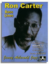 Ron Carter Bass Lines from Jamey Aebersold Volume 12 Duke Ellington