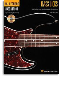 Ed Friedland: Bass Licks (Hal Leonard  Bass Method)