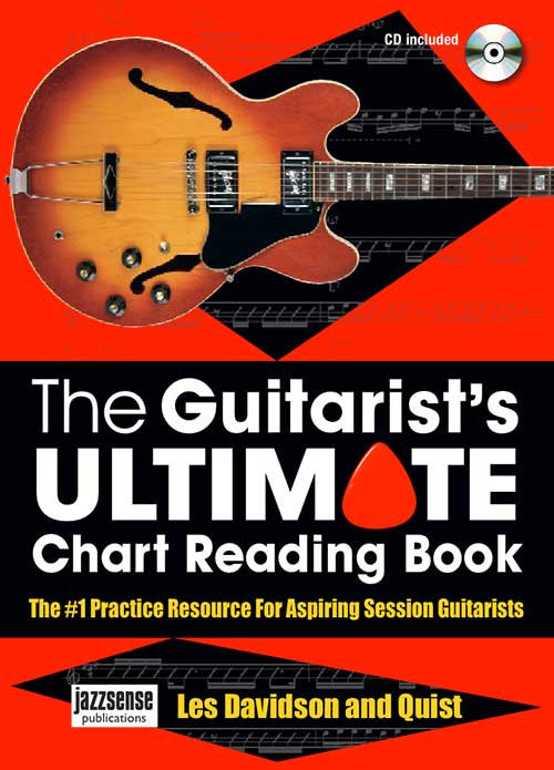 Les Davidson and Quist : The Guitarist's ULTIMATE Chart Reading Book  (Book/CD)