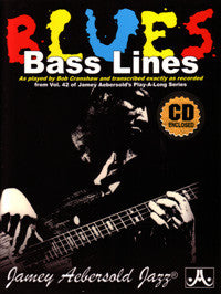 Bob Cranshaw: Blues Bass Lines transcribed from Jamey Aebersold volume 42 Blues In All Keys