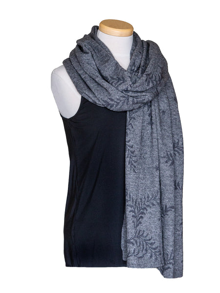 Cashmere Wool Blend Gradian Scarf