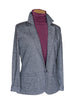 Repeat Chevron Dark Grey Blazer