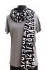 P & I Cotton Printed Number Scarf