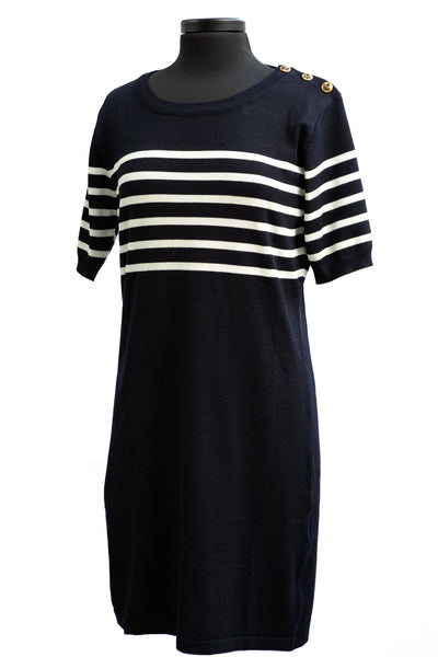 Molly Bracken Knitted Sailor Dress