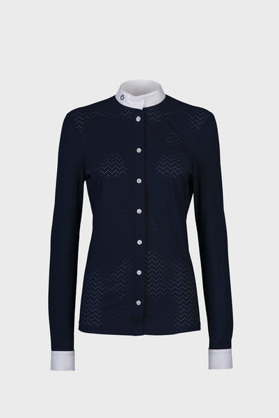 Cavalleria Toscana Perforated Competition Shirt