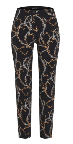 CAMBIO Ros Equestrian Patterned Stretch Pants
