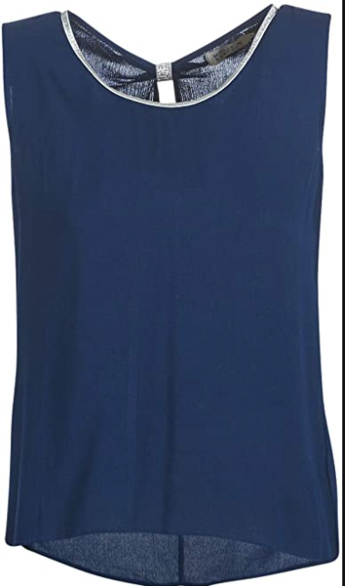 Molly Bracken Navy Tank Top