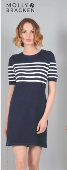 Molly Bracken Sailor Theme Dress