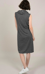 Molly Bracken Sleeveless Dress with Hood