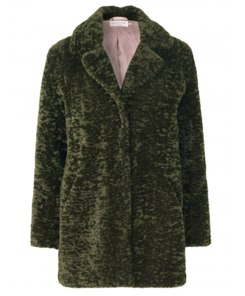 ROSEMUNDE Faux Fur Coat