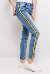 Zac & Zoé Stripped Light Blue Jeans