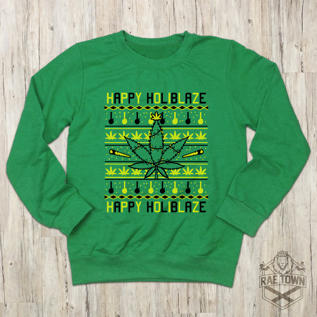 Happy Holiblaze Sweatshirt