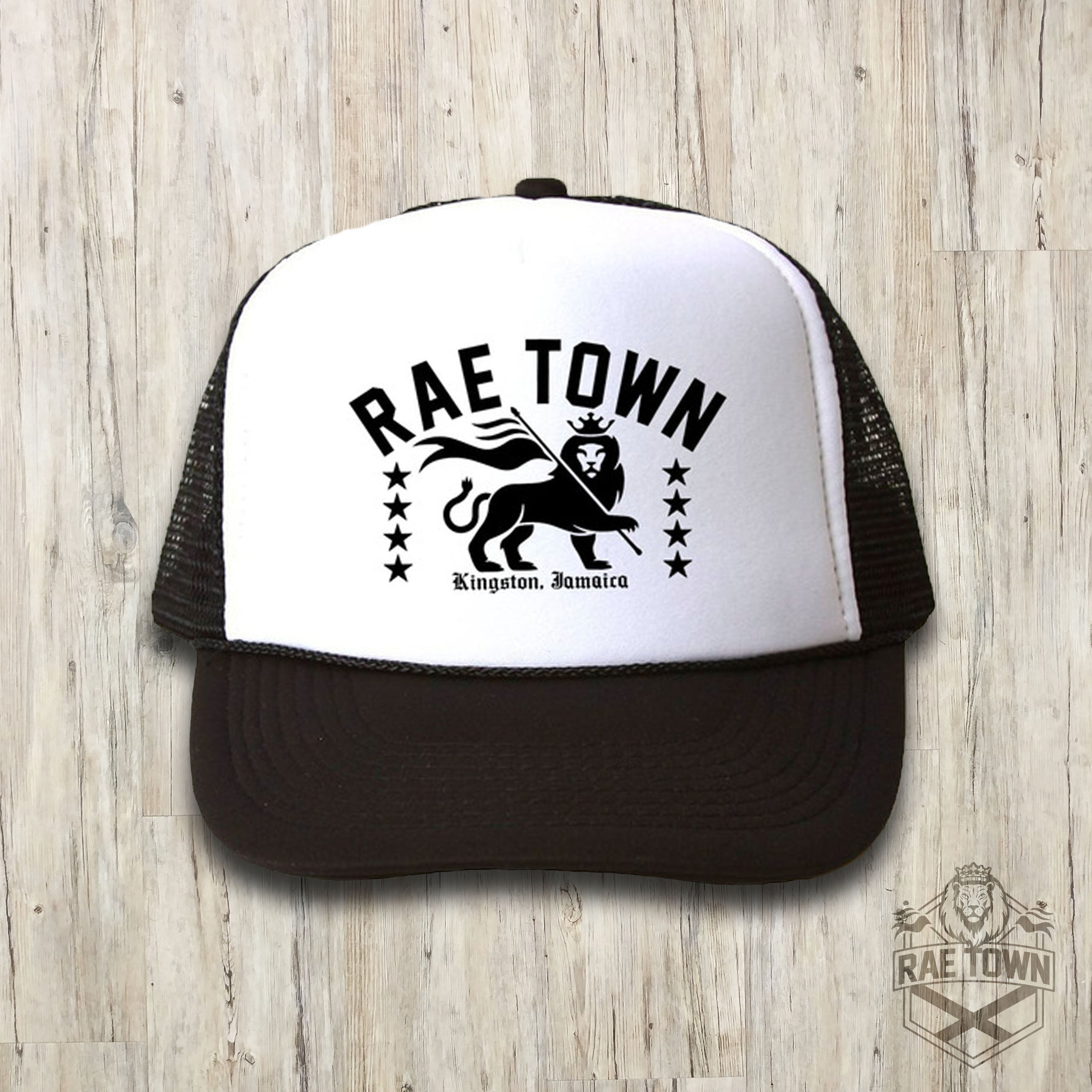 fc34832e Rae Town Lion Trucker Hat