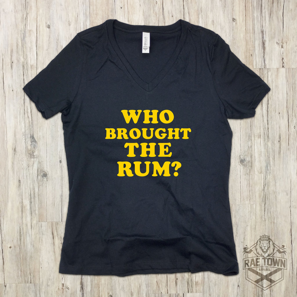 Who Brought the Rum?