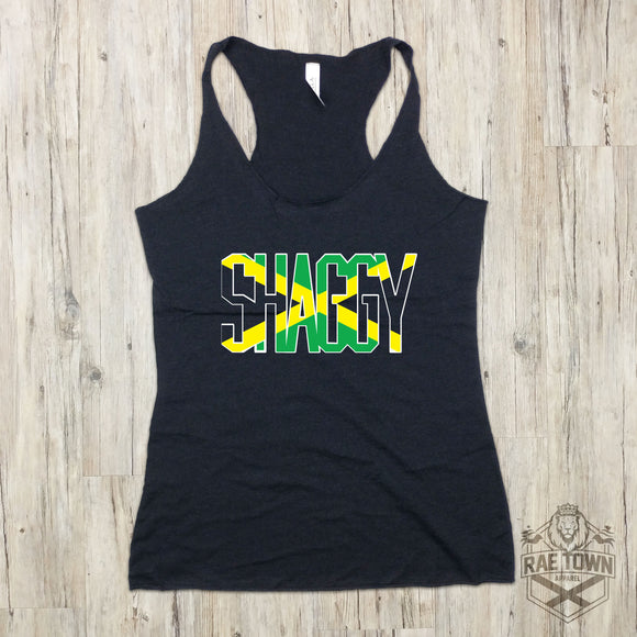 Shaggy Jamaican Flag | Women's Garments