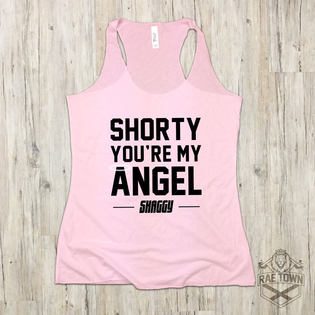 Shorty You're My Angel - Pink Unisex Shirt