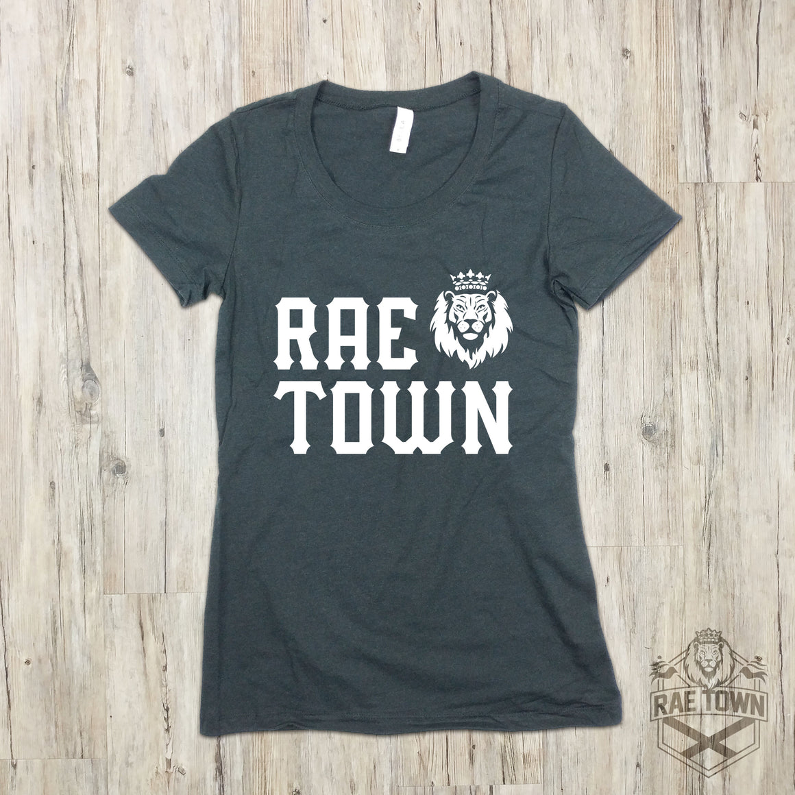 Stacked Rae Town Logo | Women's Garments