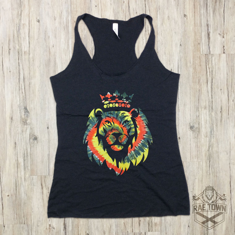 Tie-Dye Lion Head | Women's Garments