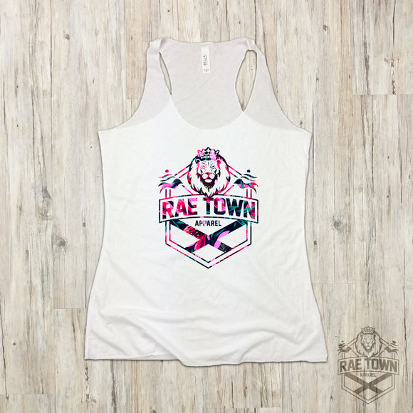 Floral Rae Town Lion Logo | Women's Garments