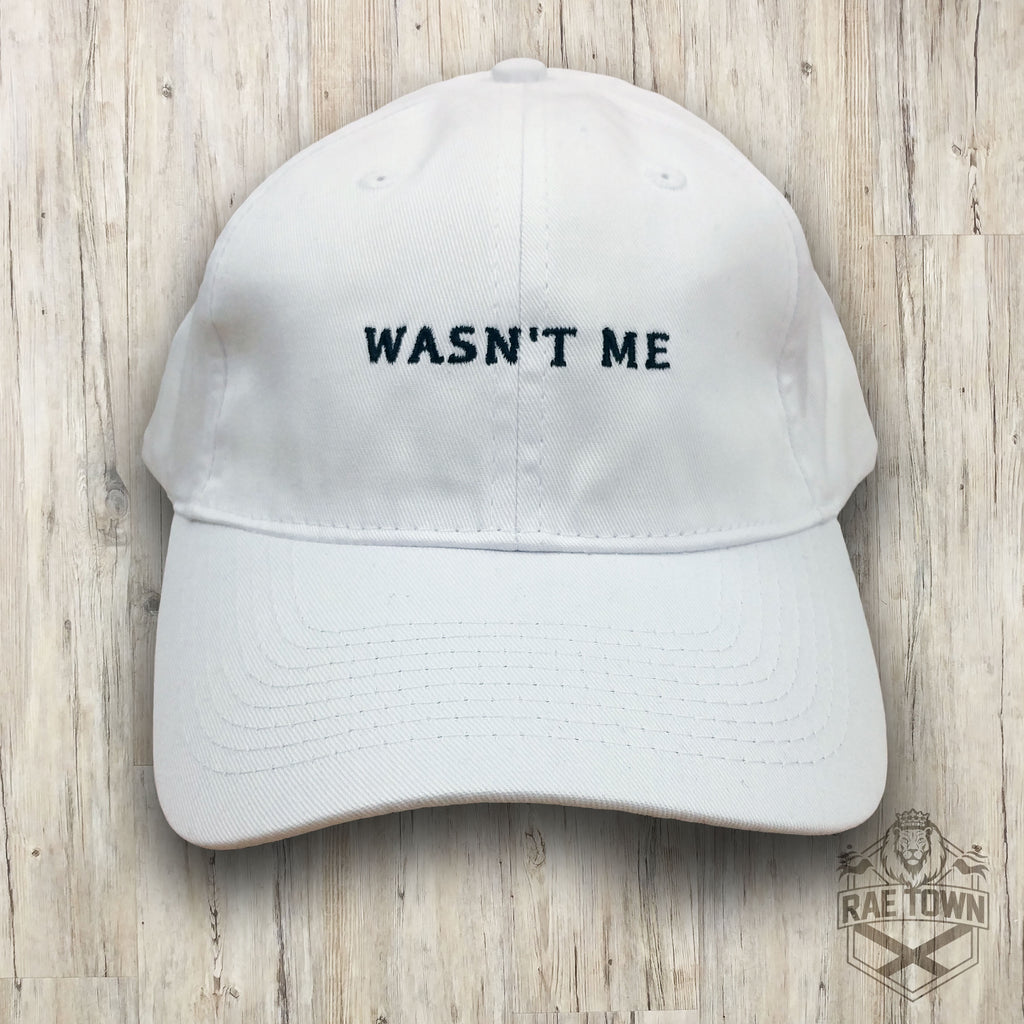 It Wasn't Me - White Hat