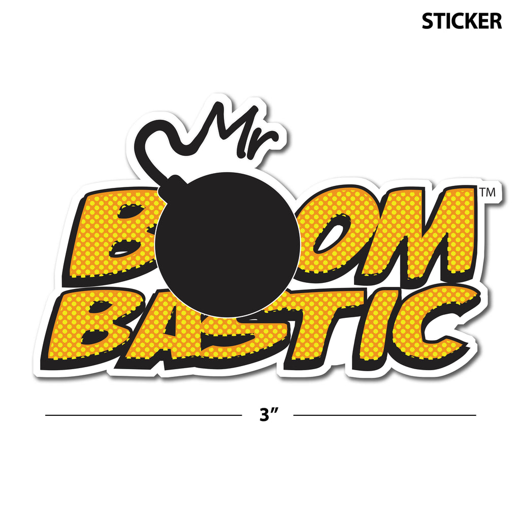 Boombastic Sticker