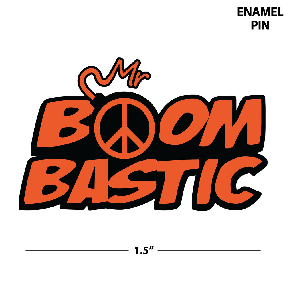 Mr Boombastic | Enamel Pin