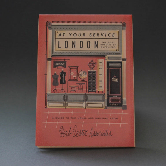 Cover of At your service guide of London's best specialist suppliers