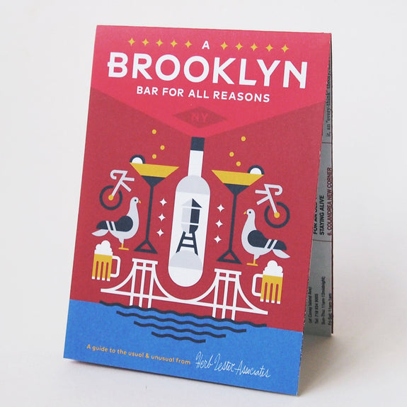 A Brooklyn Bar For All Reasons - Travel Guide front cover