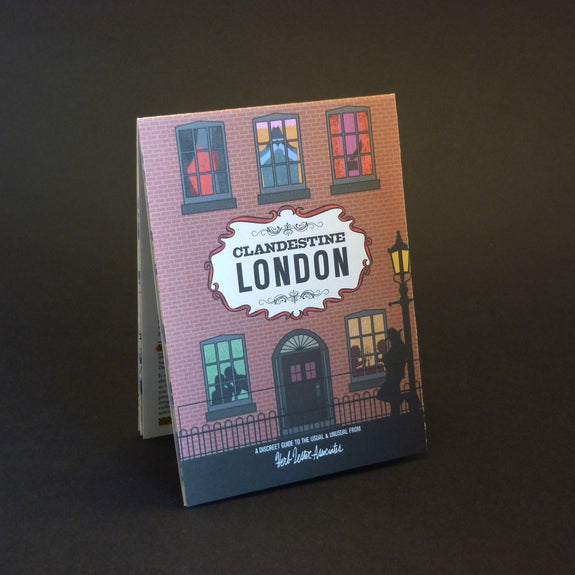 Clandestine London Travel guide front cover