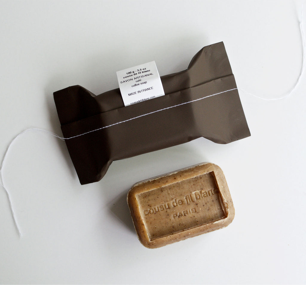 Spicy Coffee Soap Package + Bar