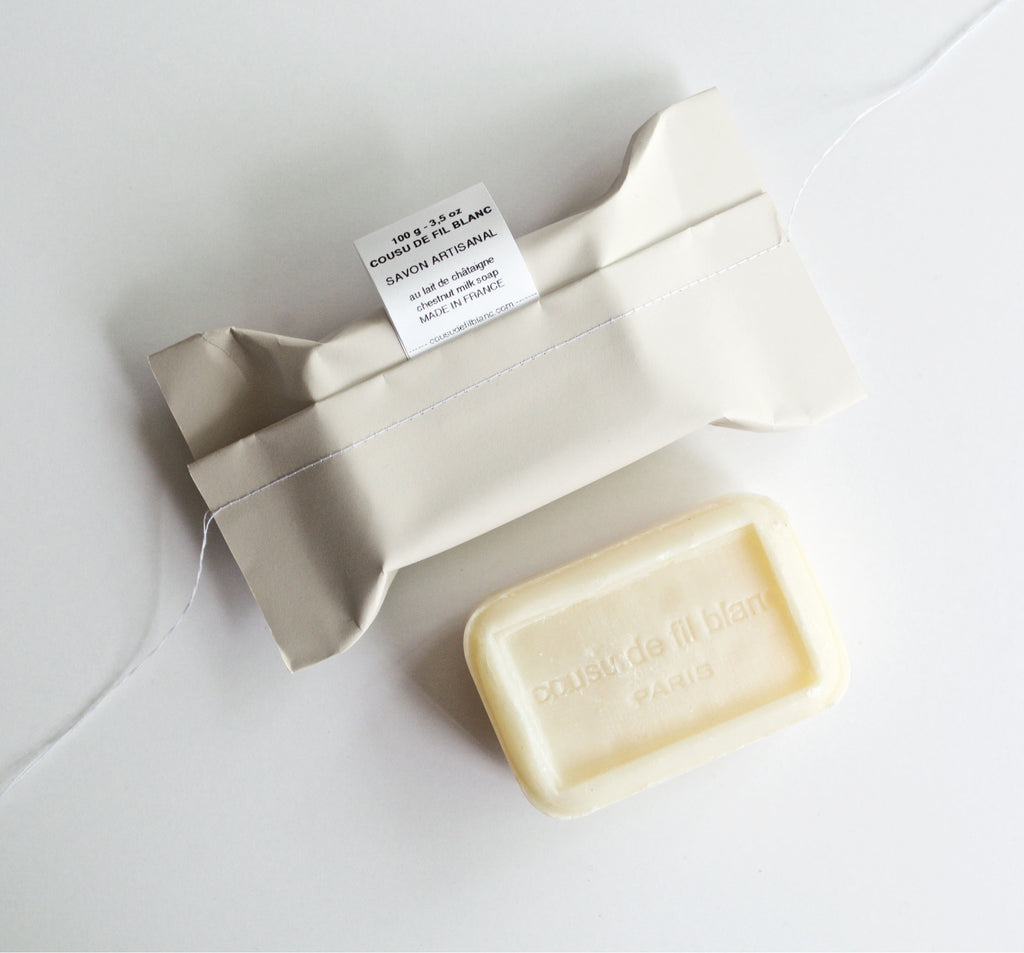 Chestnut Milk Soap Package + Bar