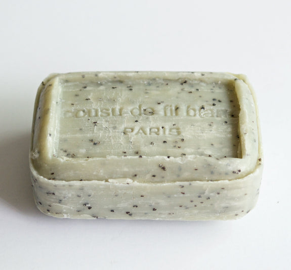 Exfoliating Poppy Seed Soap Bar