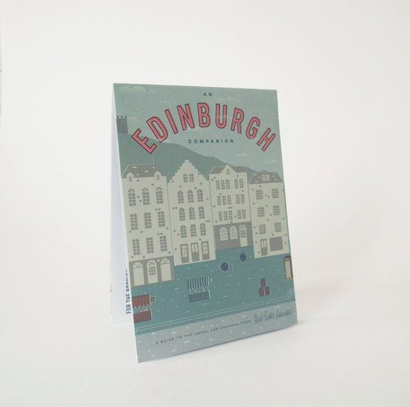 An Edinburgh Companion - Travel guide front cover