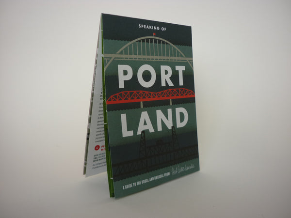 Speaking of Portland Travel Guide - front cover