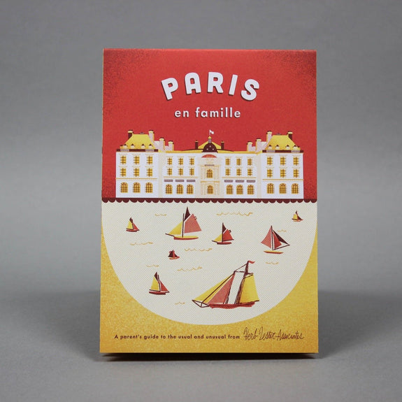 Paris en Famille - Travel guide front cover
