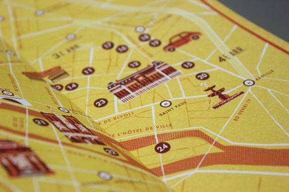 Paris En Famille Travel Guide - Map detail