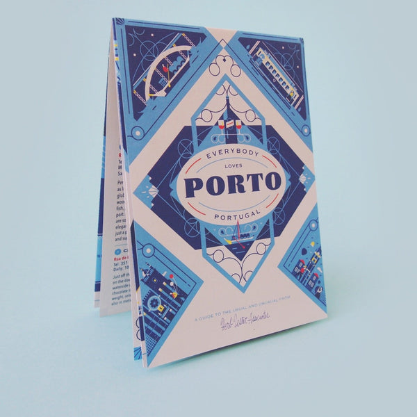 Everybody Loves Porto - Travel Guide front cover