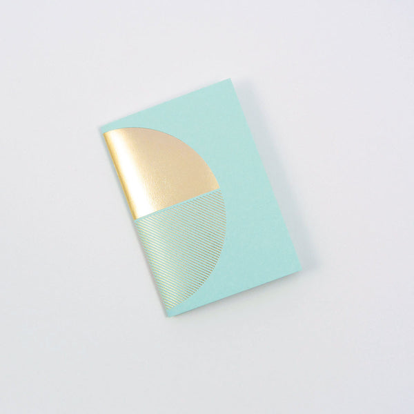 Reflex Pocketbook Brass & Mint by Tom Pigeon
