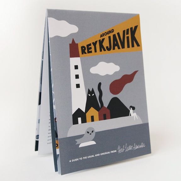 Around Reykjavik Travel Guide - cover