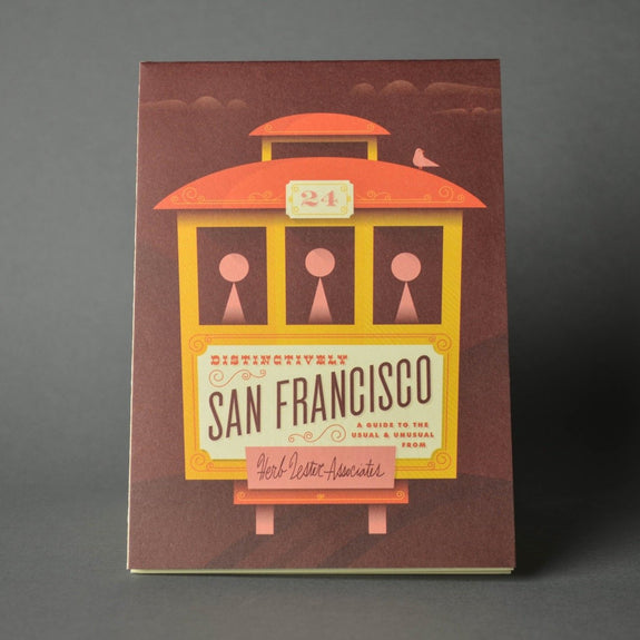 Distinctively San Francisco - Travel Guide front cover